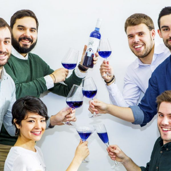 gik creadores vino azul