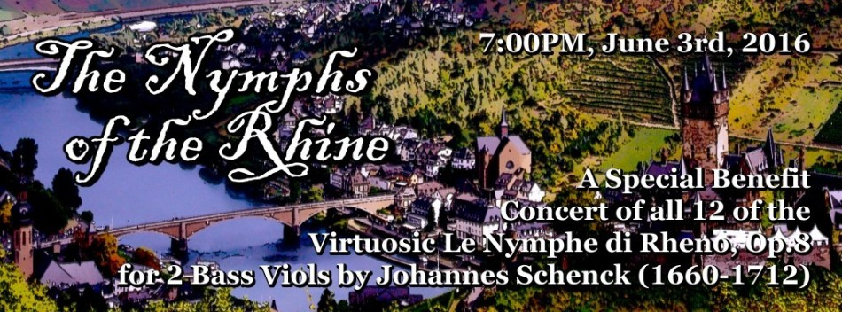 VdGS 3rd Coast – Special Benefit Concert: The Nymphs of the Rhine