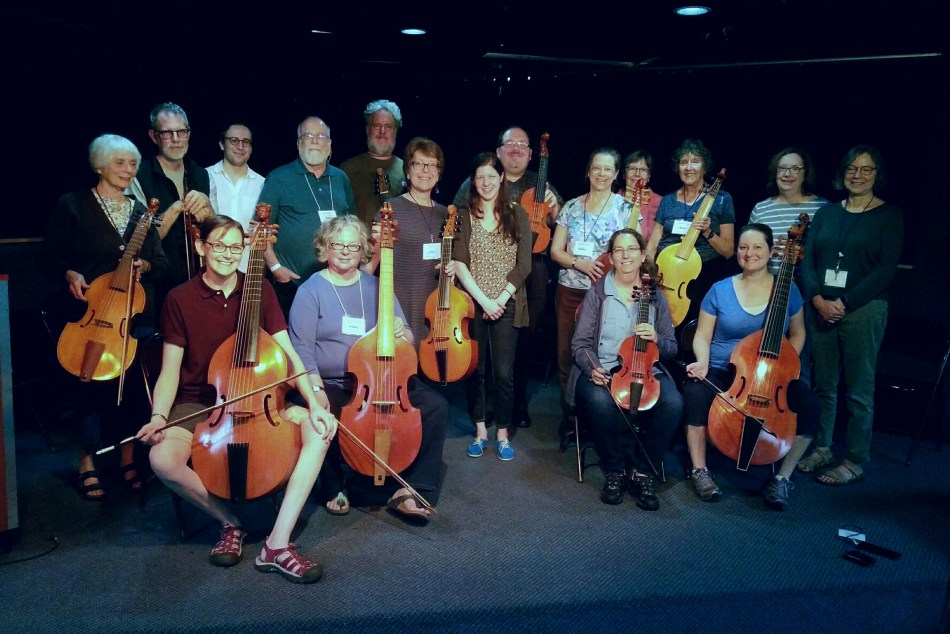VdGS 3rd Coastat the Whitewater Early Music Festival 2018