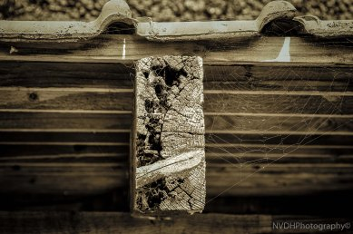 Detailed old beam