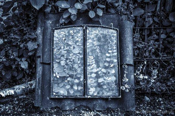 Old rusty attic window-2