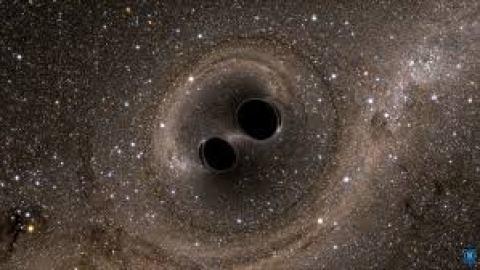 agujeros negros fusión