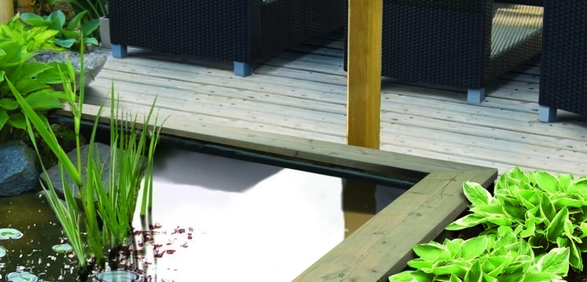 construire un bassin de jardin etape