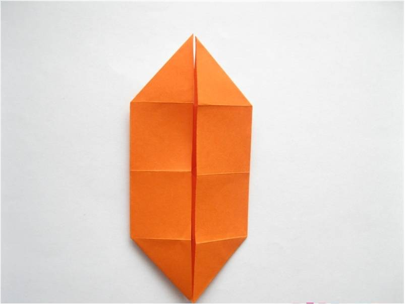 оригами для кукольного домика