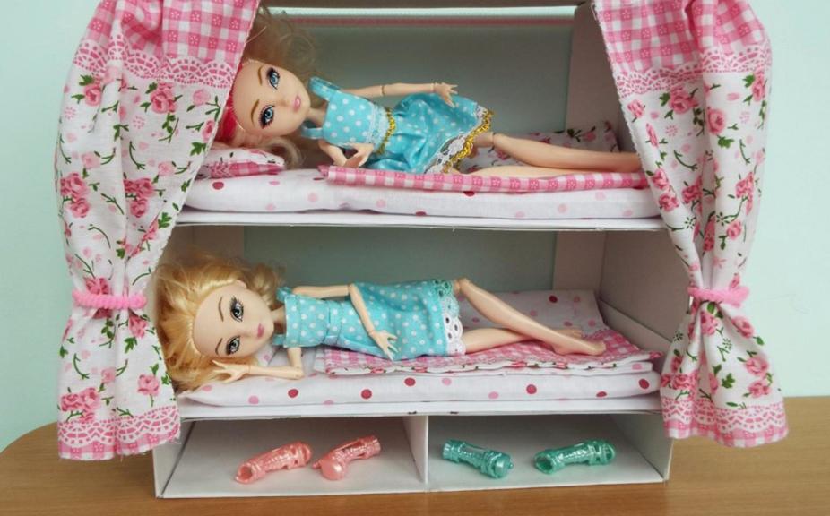 Πώς να φτιάξετε ένα κρεβάτι για κούκλες