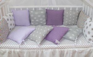 침대를위한 베개 측면 : 자신의 손을 꿰매는 방법