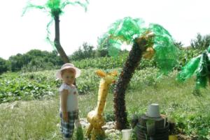 Пальма из пластиковых бутылок своими руками: фото + пошаговый мастер-класс