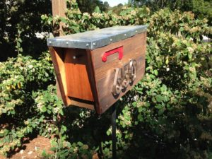 Γραμματοκιβώτιο από φραγκόσυκο σημαίνει να το κάνετε μόνοι σας
