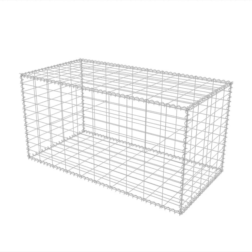 Large Gabion Basket Steel Garden Fencing Metal Cage