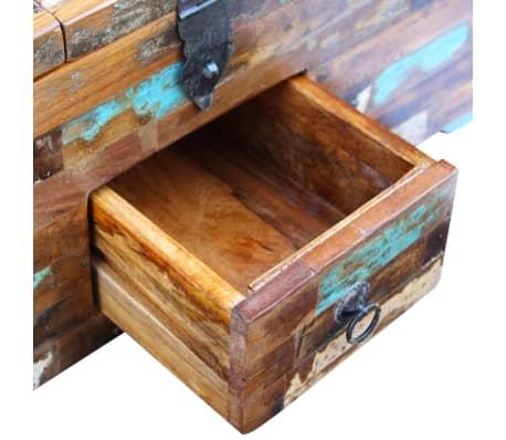 vidaxl coffre table basse bois de recuperation massif 80 x 40 x 35 cm