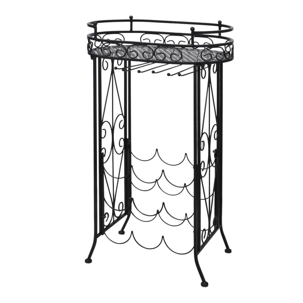 Metal Wine Storage Wine Rack Wine Table Side Table Stand