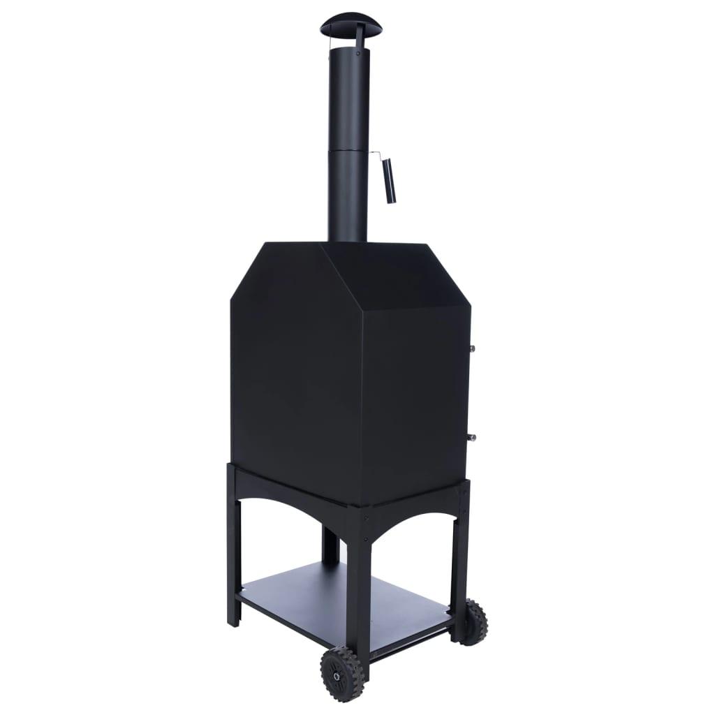 BBGRILL Outdoor Pizza Oven Lorenzo Black LOR17