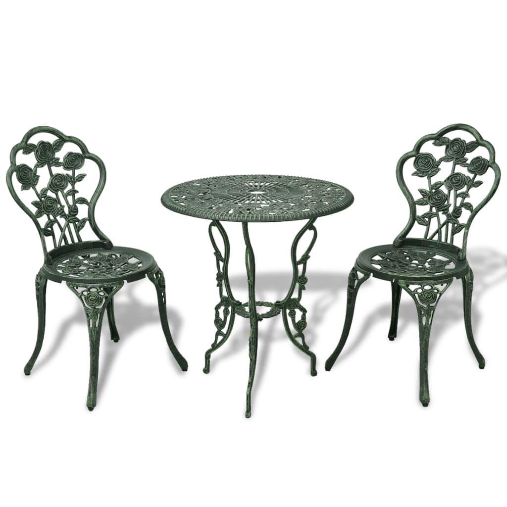Round Bistro Table Patio Bar Cafe Indoor Outdoor Garden