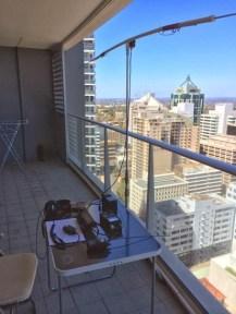 Balcony ozipole