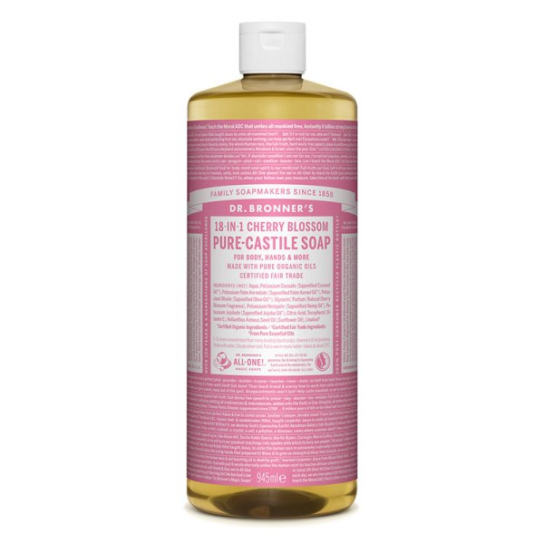 CHERRY BLOSSOM SCENTED - săpun lichid - Dr. Bronner's 945