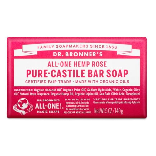 ROSE SCENTED - săpun pur - Dr. Bronner's