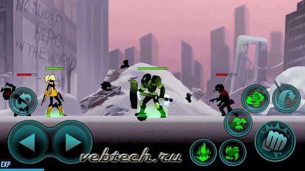 Zombie Avengers-Stickman War Z