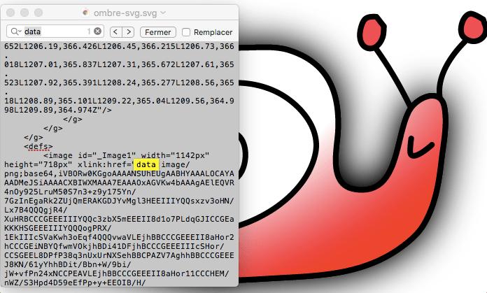"""Image vectorielle avec ombrage : présence du """"data"""" dans le fichier SVG"""