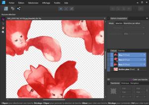 Créer une tranche sur Affinity Designer
