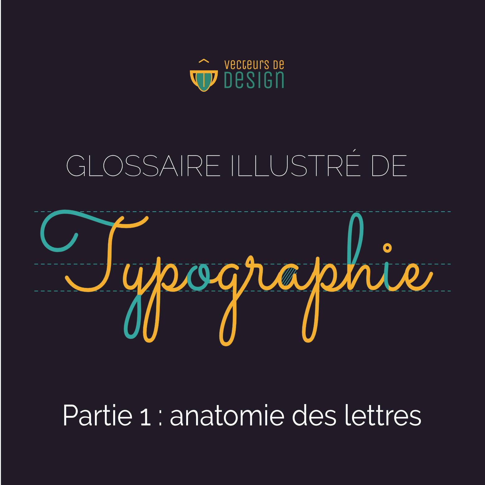 Glossaire illustré de typographie : l'anatomie des lettres