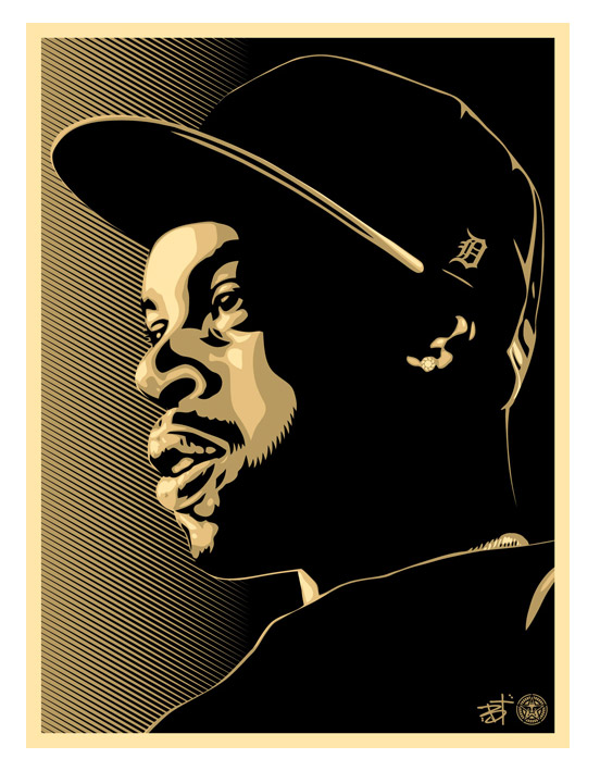 "New Obey Art Print: ""Dilla"""