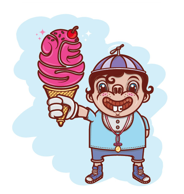 I scream by Clement de Bruin