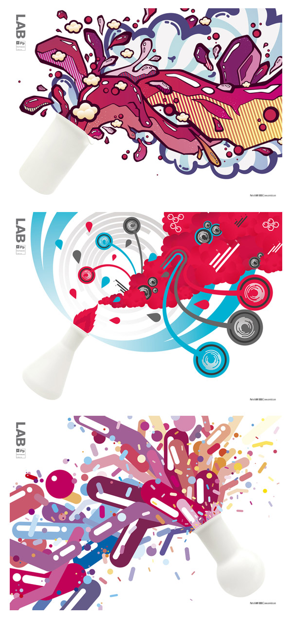 LAB Posters by Neal Coghlan