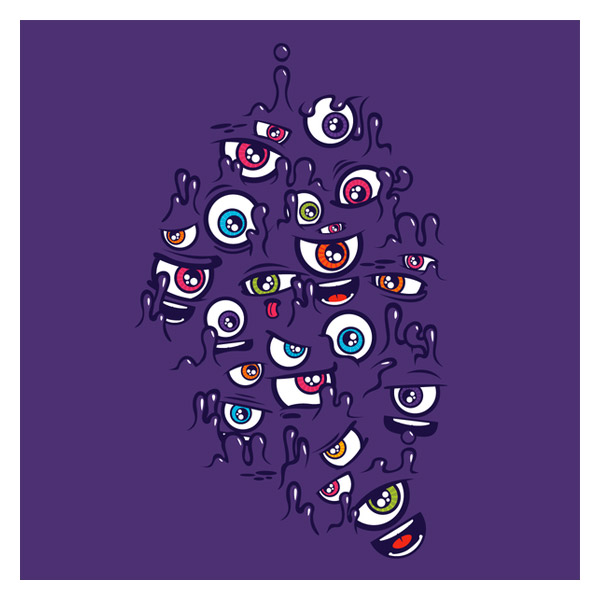 One Eyed Purple People Eater (laFraise Edition) by Jared Nickerson