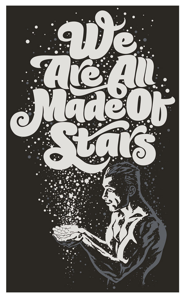 We Are All Made Of Stars by Rubens Scarelli