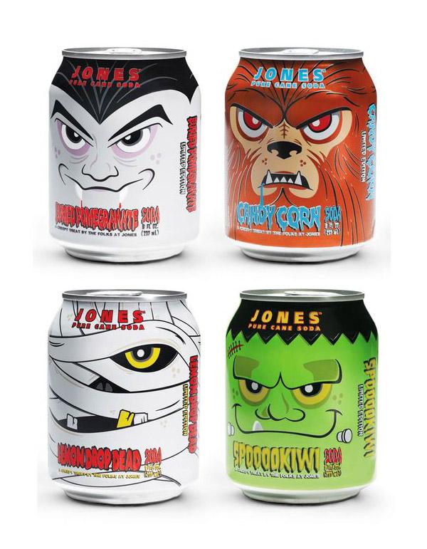 Jones Soda Halloween Edition by Superbig Creative