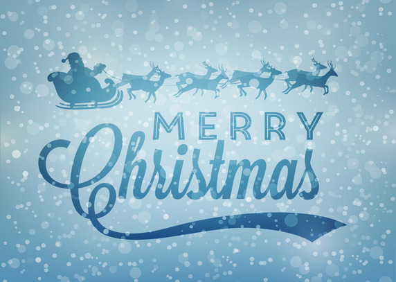 Merry Christmas From Vectips Christmas Vector Roundup