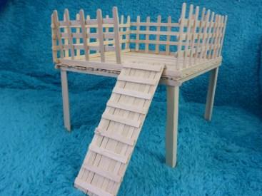 Lollystick platform