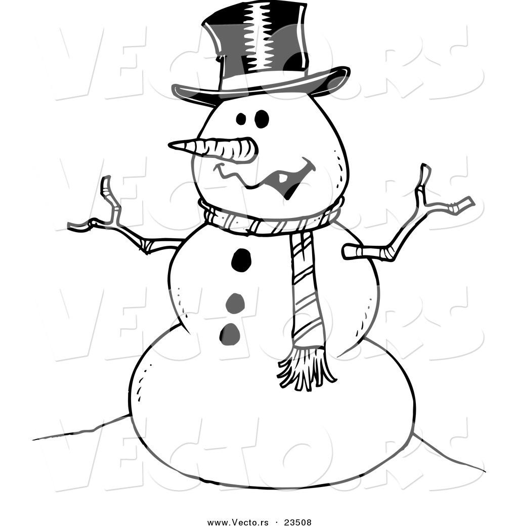 Royalty Free Snowman Stock Designs