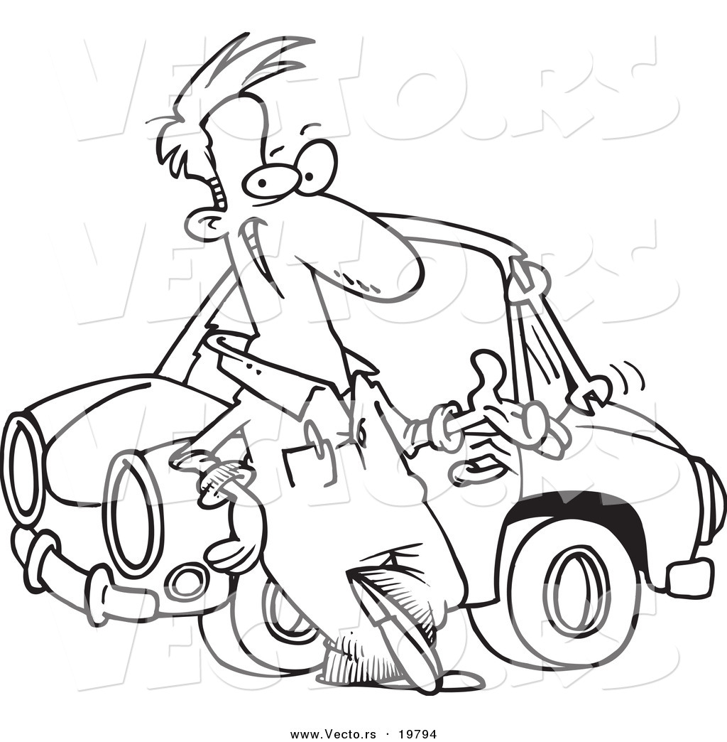 Mechanic Coloring Pages