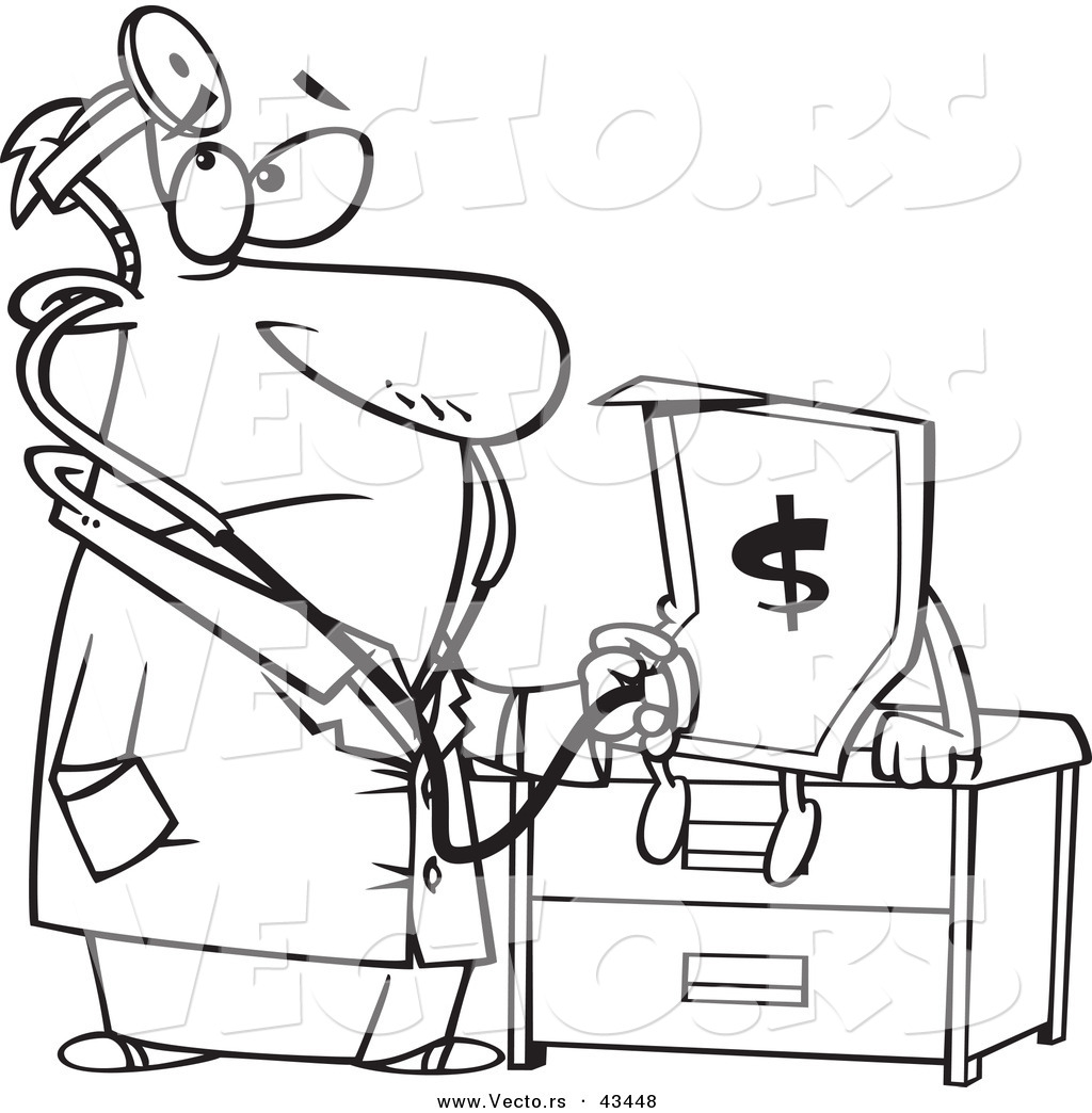 Stethoscope Coloring Coloring Pages