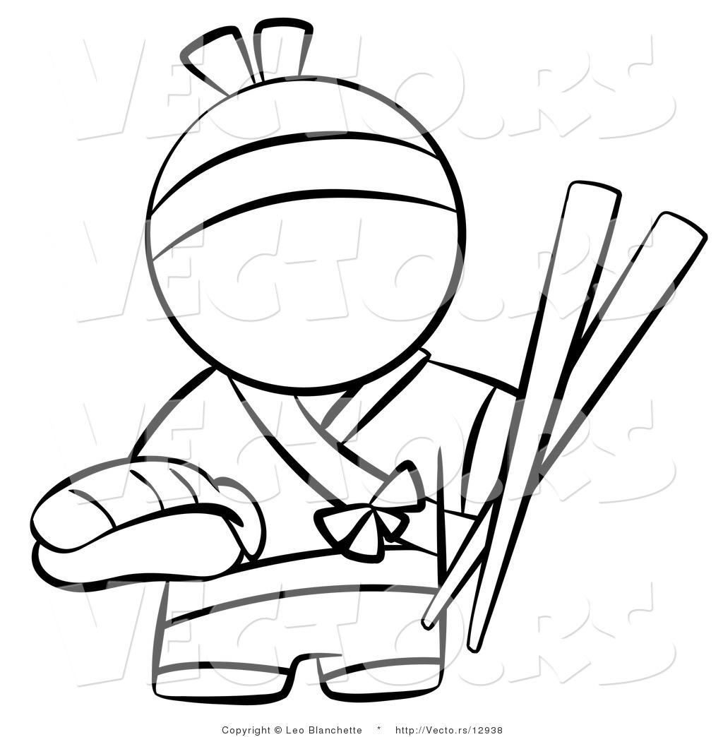 Chopsticks Cartoon