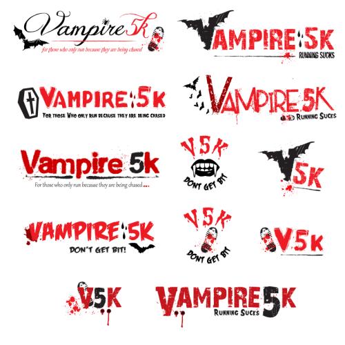 vampire5k-logo-set