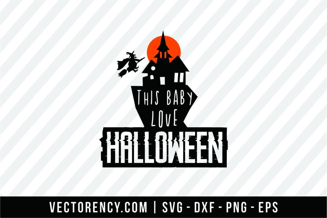 Download This Baby Love Halloween | Vectorency