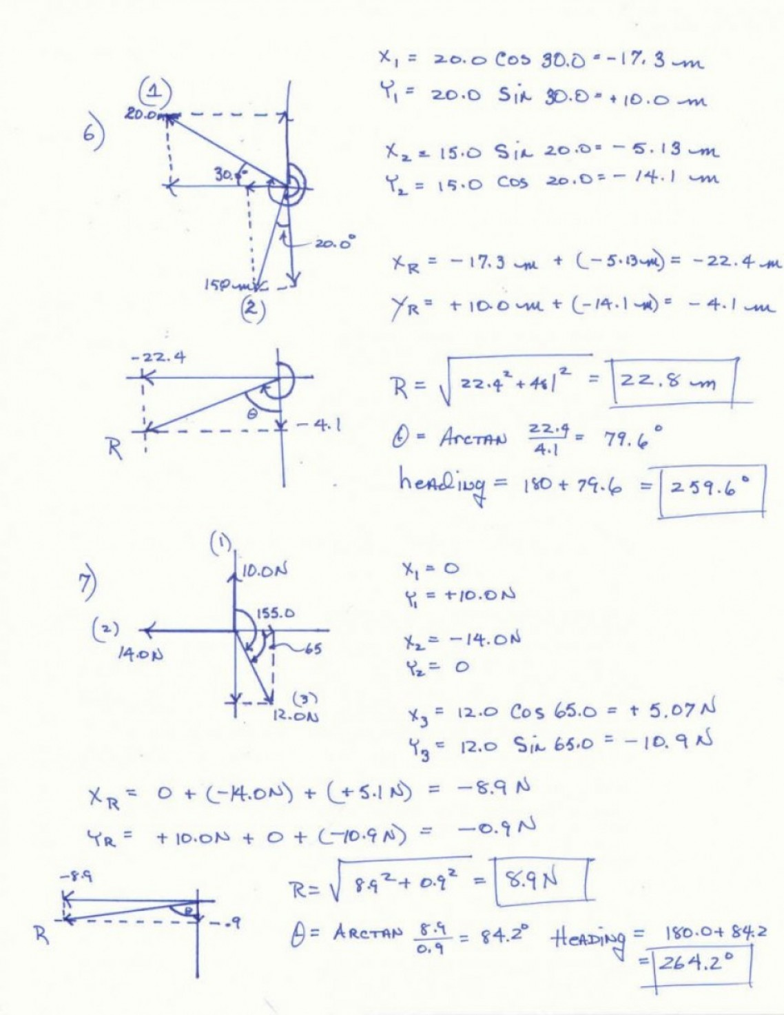 Physics Vector Worksheet At Vectorified
