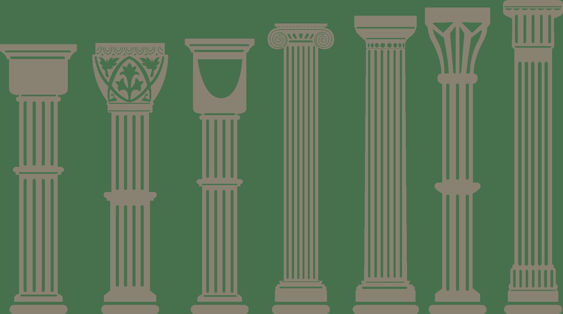 Pillar Vector At Vectorified