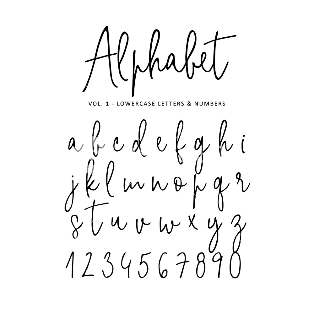 Download Vector Alphabet Letters at Vectorified.com | Collection of ...