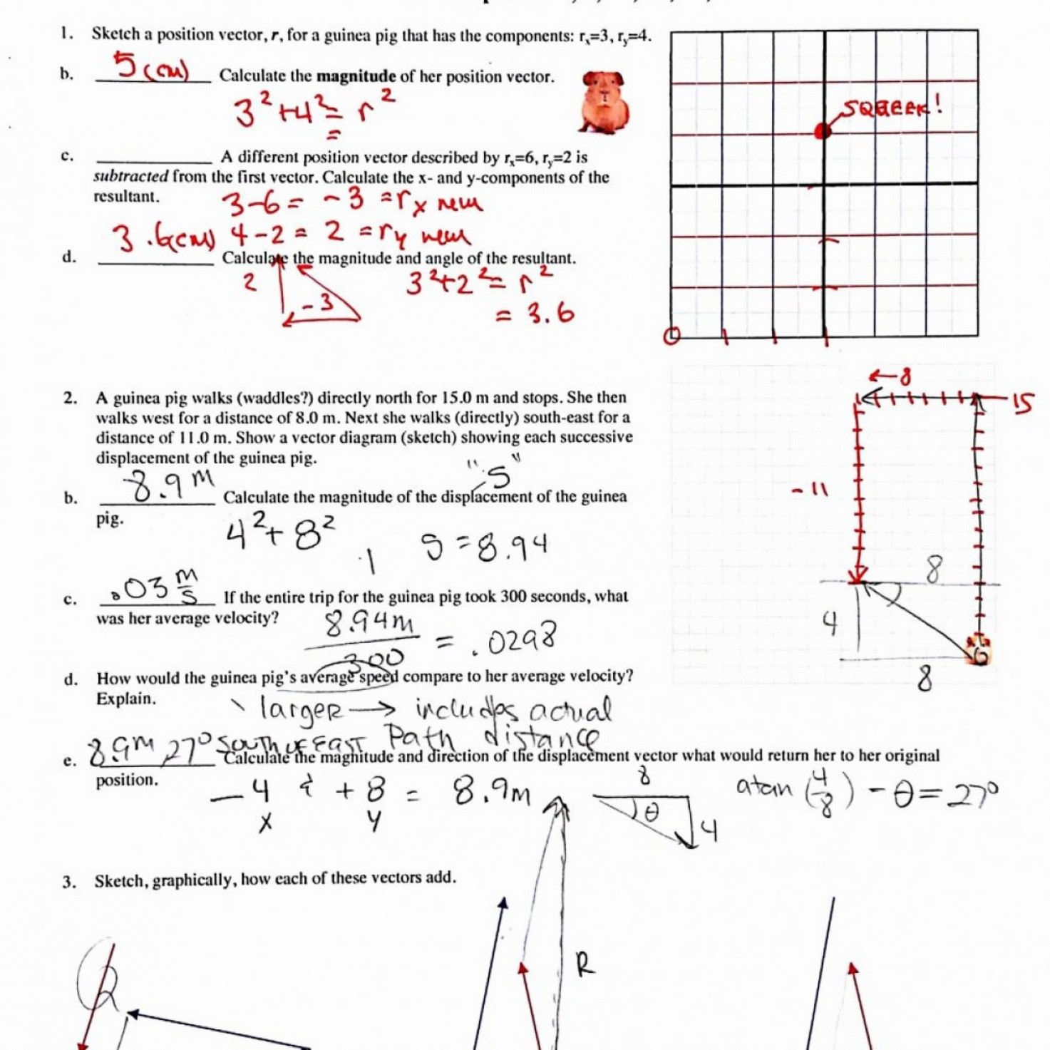 Vector Worksheets With Answers At Vectorified