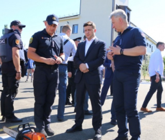 Demining Center Of The State Emergency Service Opened In Mariupol
