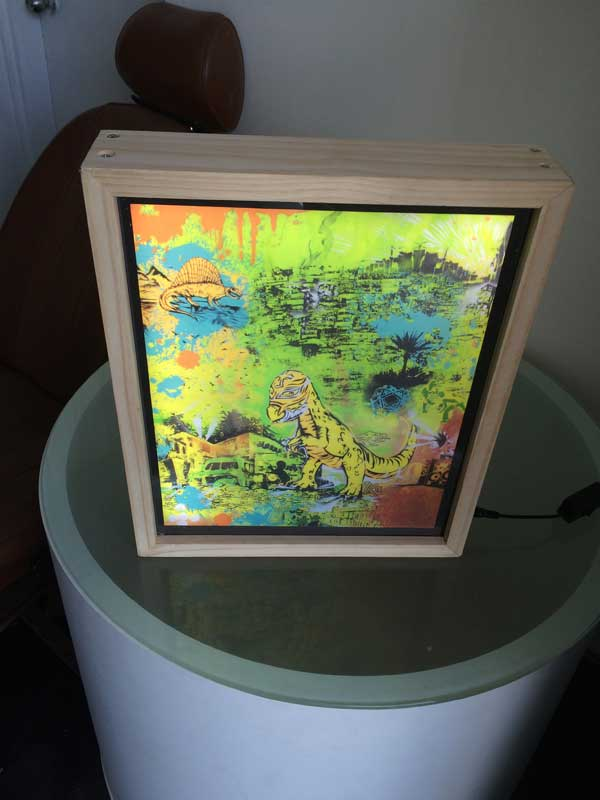 Lightbox artworks for your home or office
