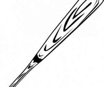 Download Vector Baseball Bat (b And W) Vector Clip Art - Ai, Svg ...