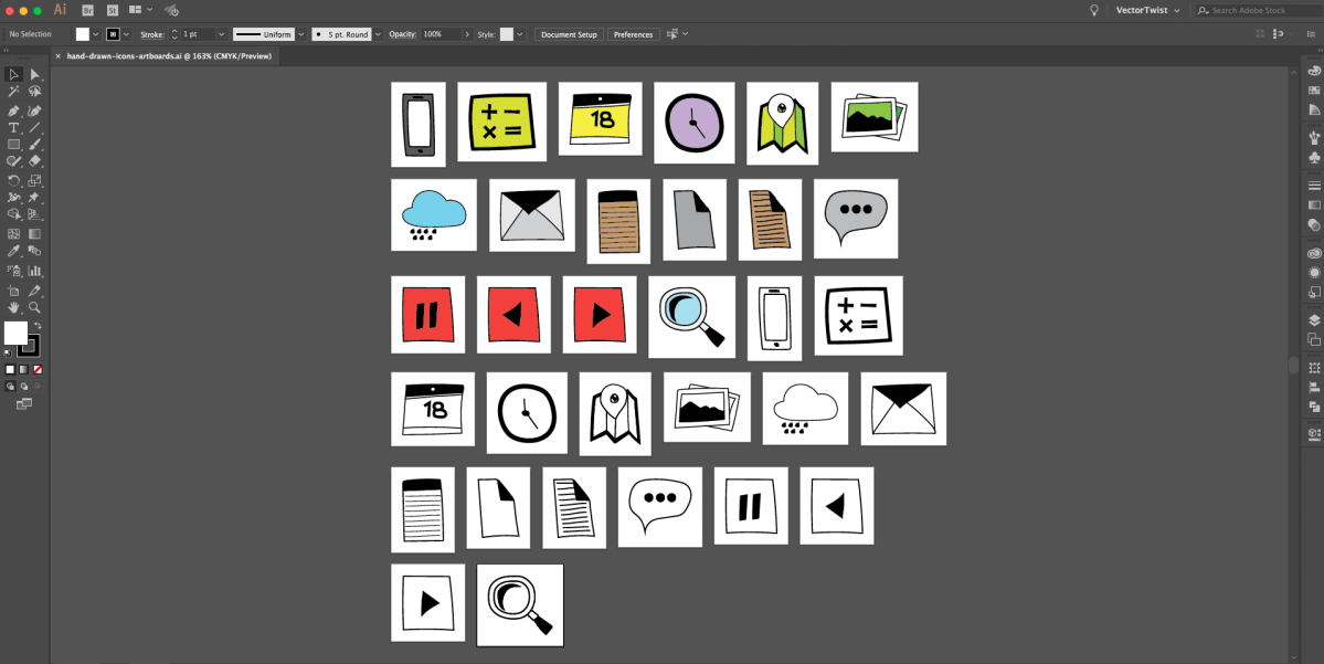 Create Multiple Artboards in Illustrator with Scripts