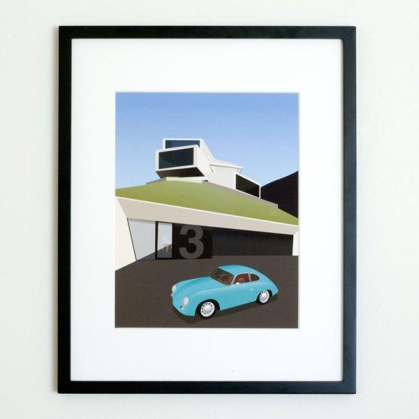 Porsche 356 Outlaw Villa Am See