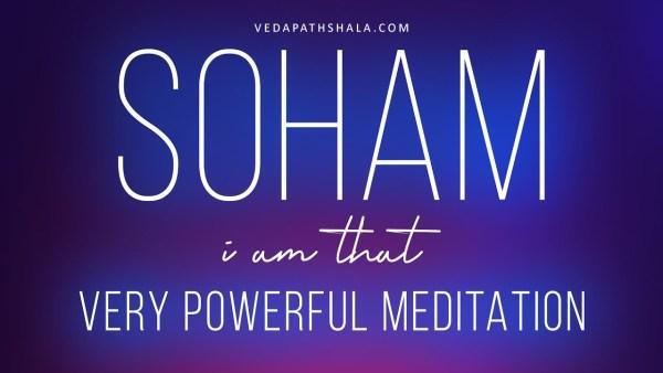 Soham mantra meditation