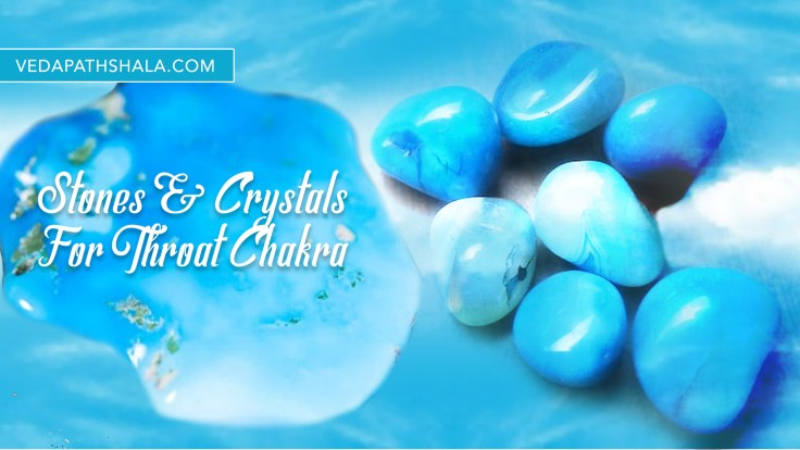 Stones, gems, and crystals for throat chakra