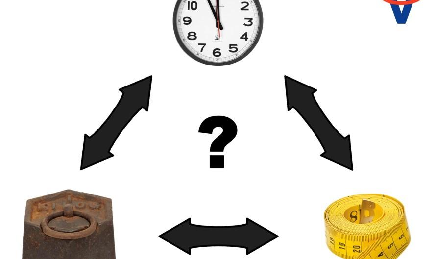 Čo bolo skôr: gram, meter alebo sekunda?
